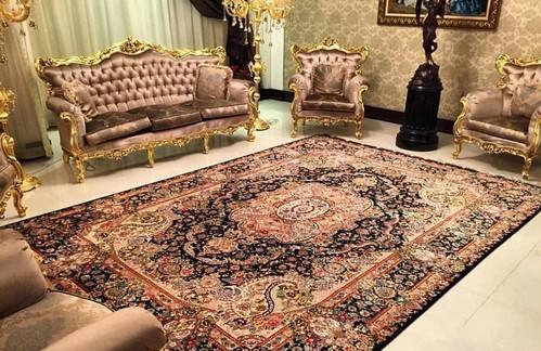 فرش کاشان قالی کاشان روانشناسی رنگ فرش